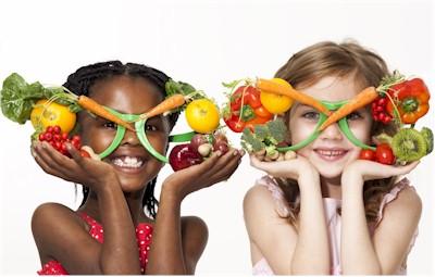 alimentos saludables para la vista